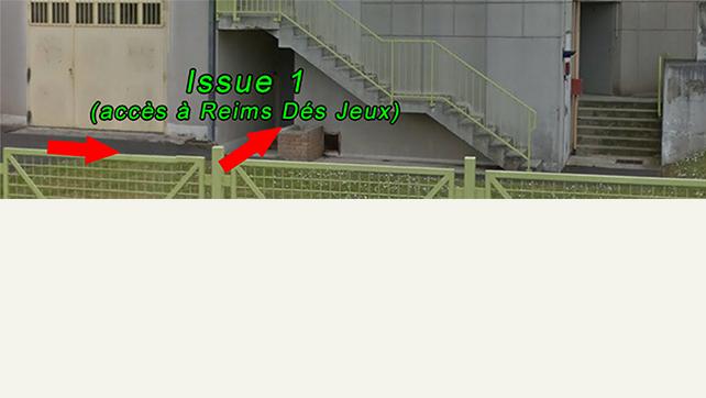 ⚠ L'accès à l'association « Reims Dés Jeux » se fait désormais par l'issue n°1 !